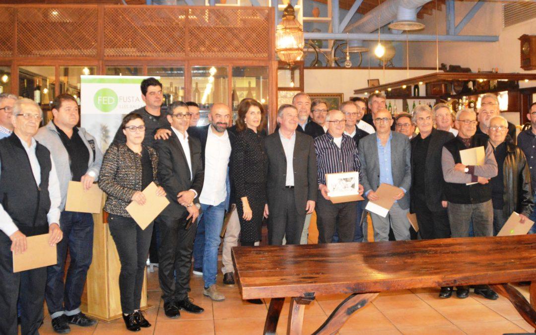 Las asociaciones vinculadas a Federació de la Fusta celebran su 40 aniversario