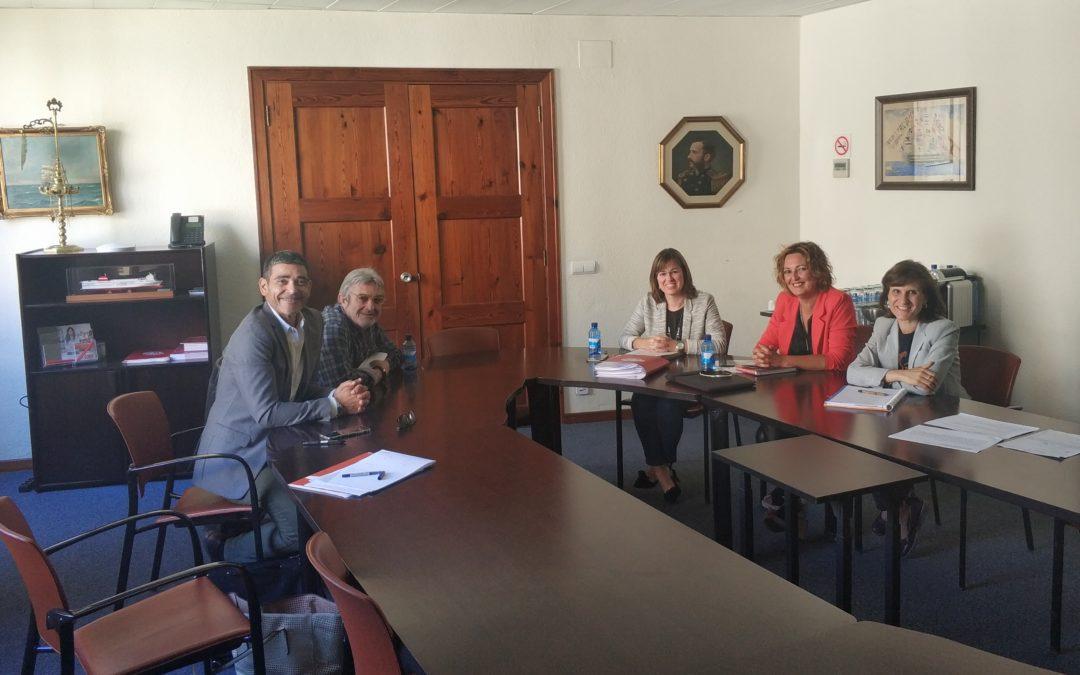 Reunió Cambra de Comerç de Mallorca i la Federació de la Fusta de les Illes Balears