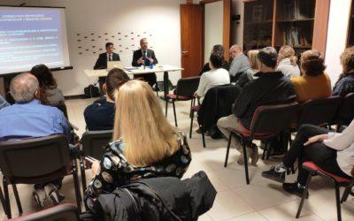 Realitzada jornada sobre SUBCONTRACTACIÓ Riscos i responsabilitats i REGISTRE HORARI