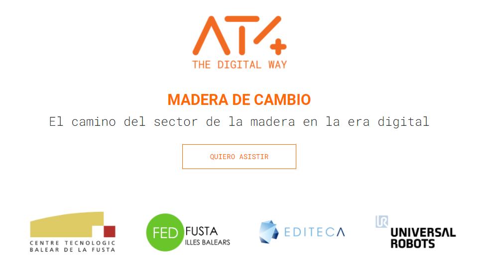 Próxima jornada digitalización madera del cambio