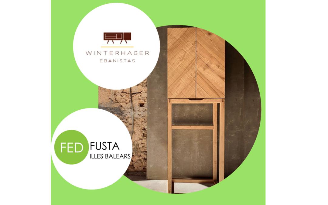 Wintehager nos presenta el diseño de su mueble de castaño