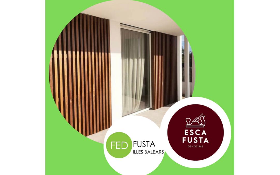 Innovación en persianas de ESCA FUSTA, actualizadas y correderas
