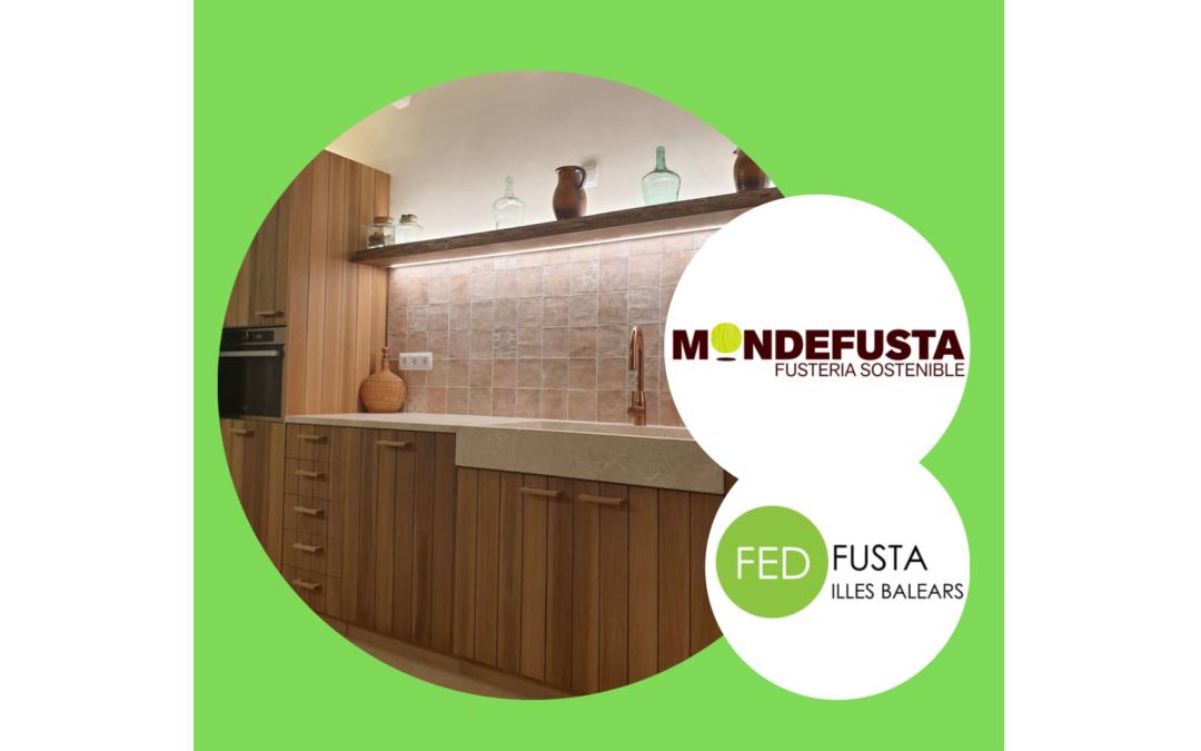 Amueblamiento de cocina para casa unifamiliar en Valldemossa realizado por nuestro asociado MONDEFUSTA