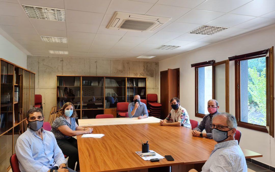Reunió amb el Conseller de Medi Ambient Miquel Mir